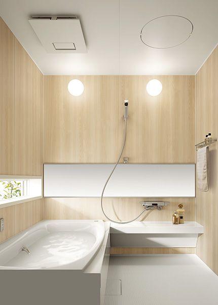 パナソニック ラグジュアリーなバスルーム 浴室 デザイン シンプル