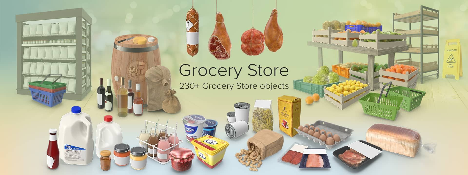 Grocery Store Collection Png Images Psds For Download Pixelsquid Grocery Grocery Store Png Images