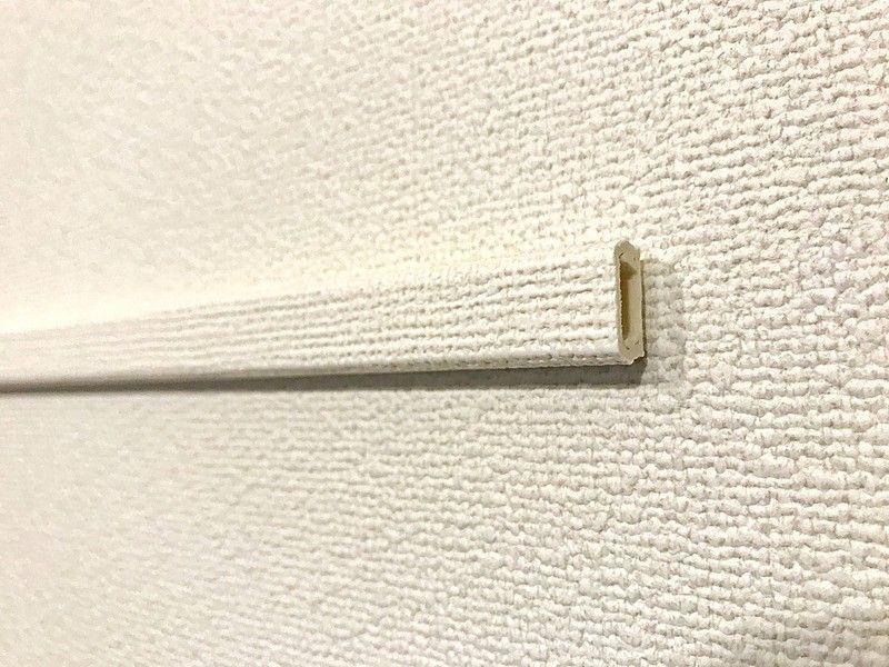 リビングの壁にコンセントを増やして快適ライフ リビング 壁 壁