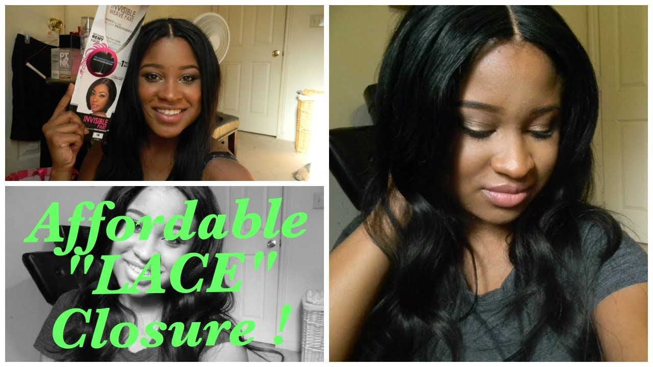 "AFFORDABLE ""Lace"" Closure !! (w/ my OWN U-Part Wig) #Upart ..."