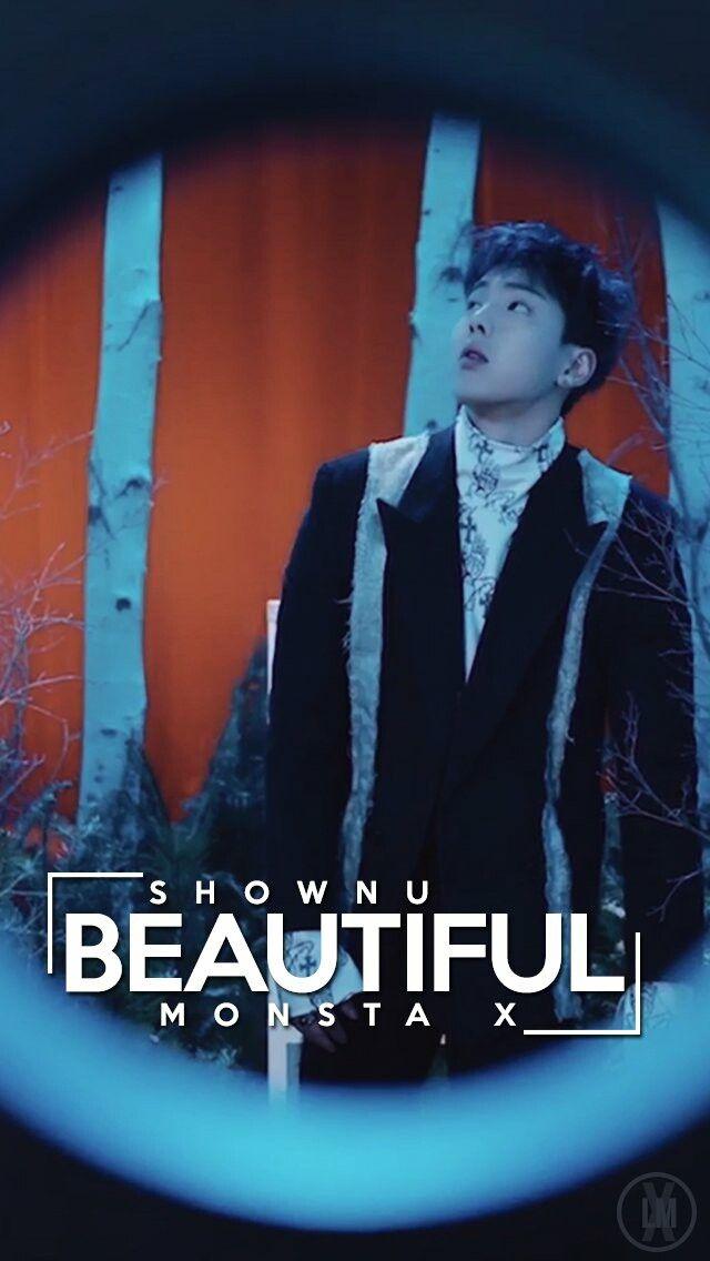 MX - Wallpaper - BEAUTIFUL - Shownu | KPOP em 2019 | Kihyun