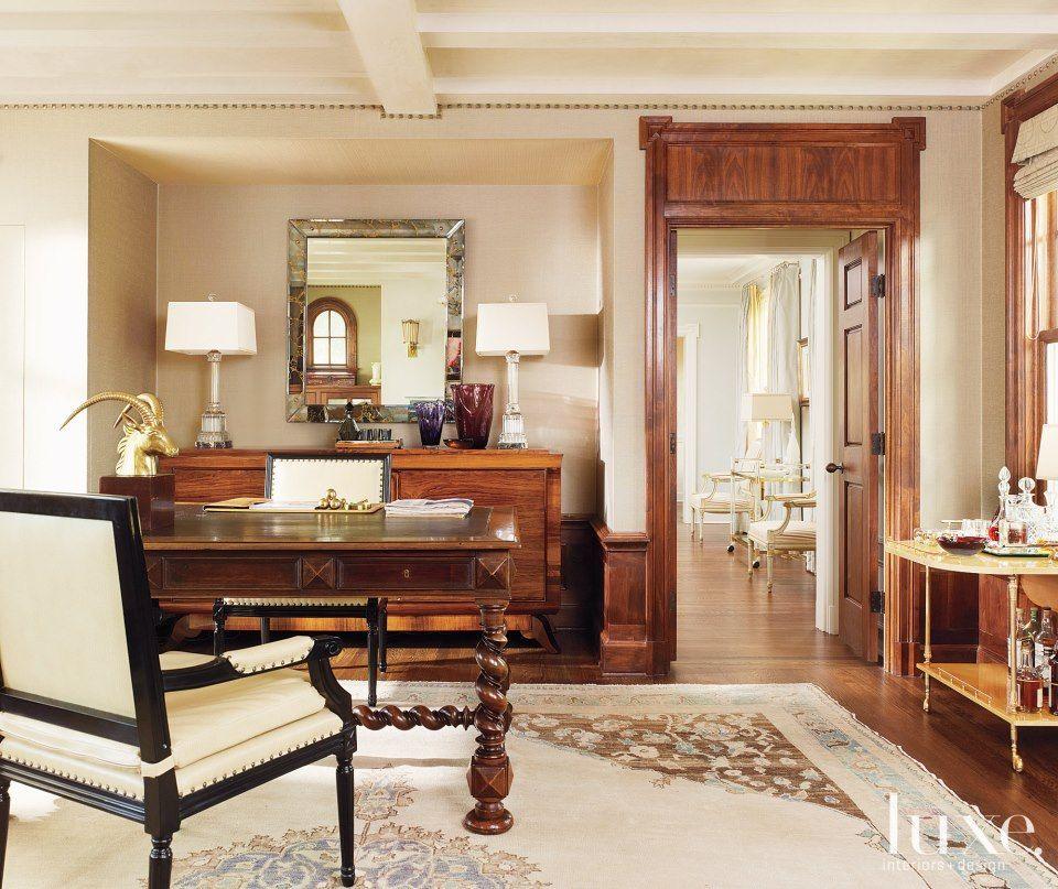 Modern Interior Design Magazine: New Desk? Hmmmm... I Think So!