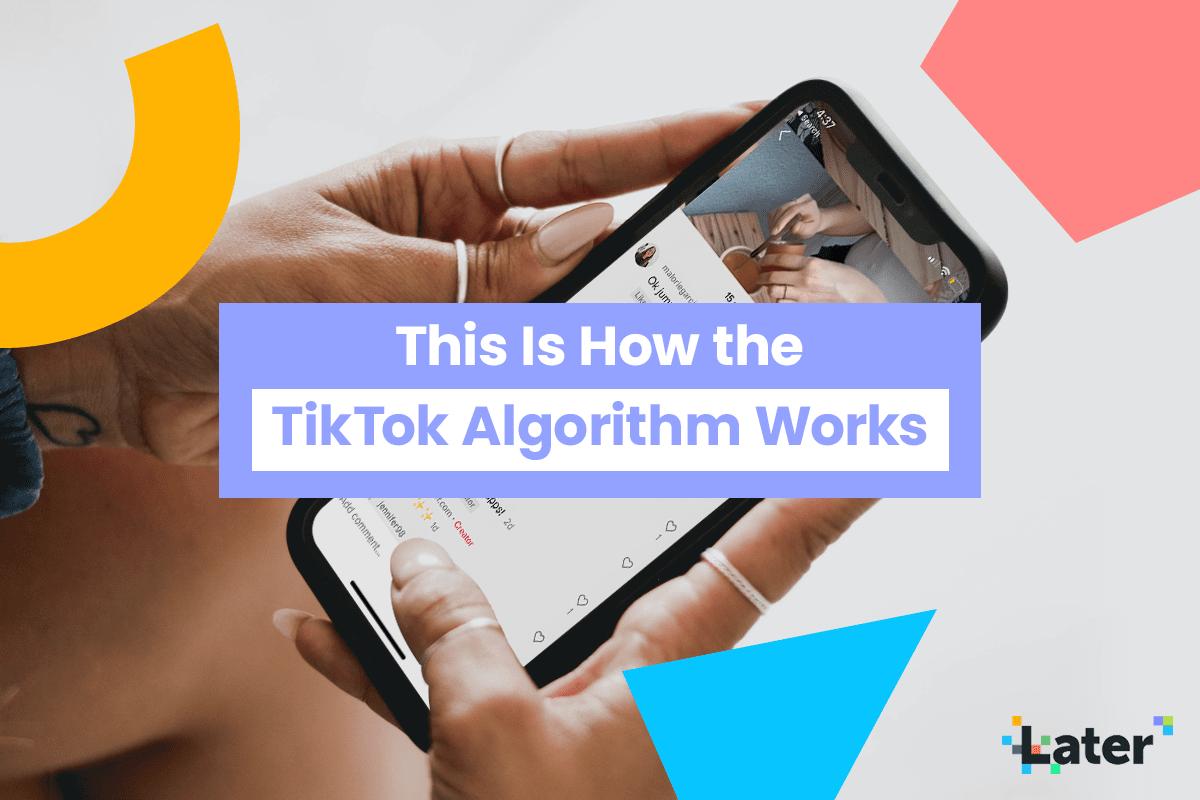 This Is How The Tiktok Algorithm Works Later Blog Algorithm It Works Social Media