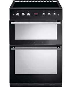 Stoves 61EDO Double Electric Cooker - Black.