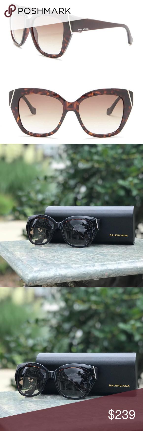 NWOT • Balenciaga Oversized 57mm Sonnenbrille Balenciaga Oversized 57mm Sonnenbrille …