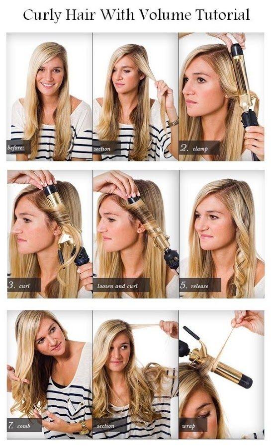 comment faire cheveux bouclés