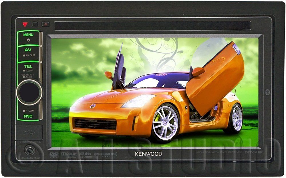 Kenwood ddx419 indash head unit car stereo car stereo