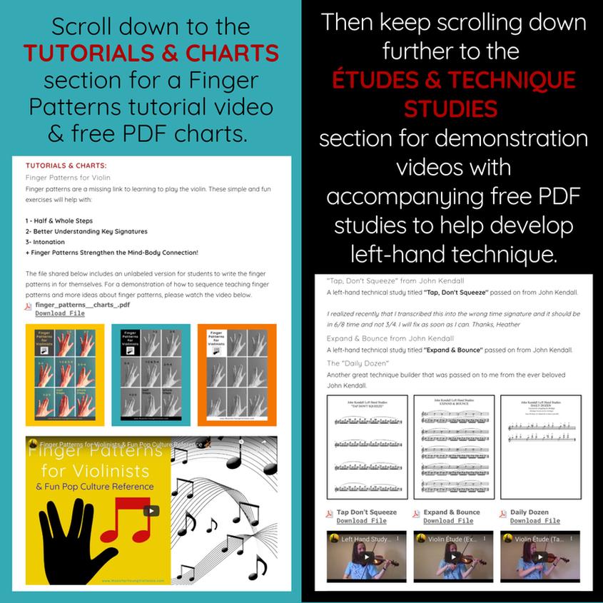 Vibrato Violin Violin Sheet Music, Free PDFs, Video