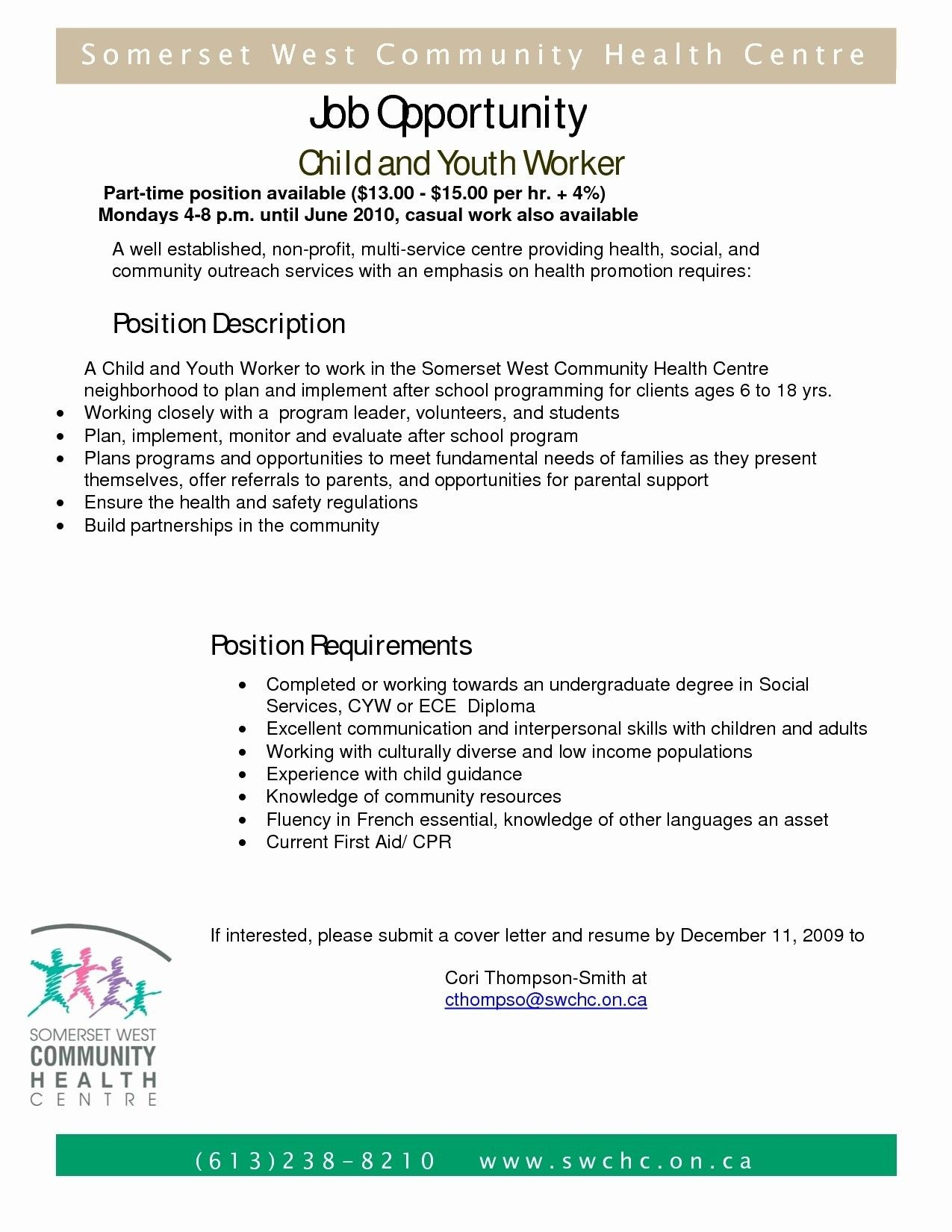 Cover Letter Template Youth Work Cover Letter Template Youth Work Lettering