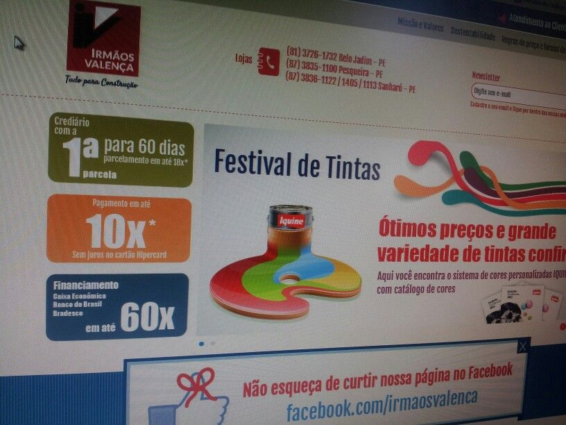 Site by Jean Nascimento www.irmaosvalenca.com.br