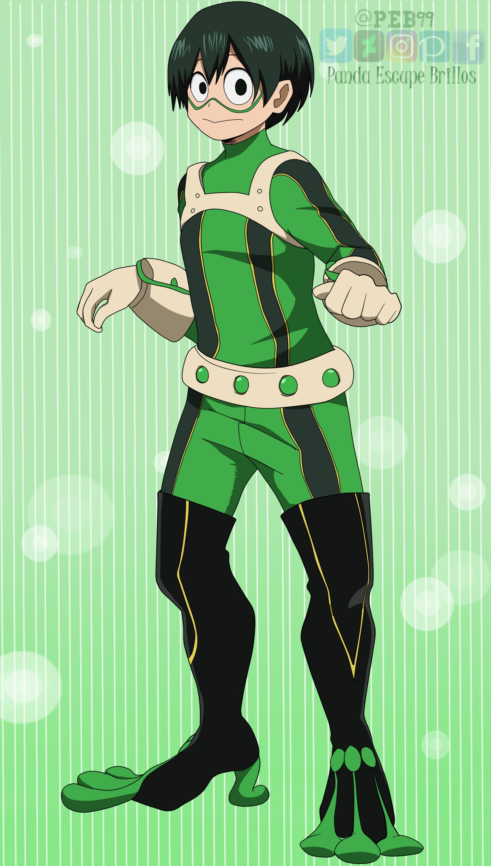My hero academia wiki is a community site that anyone can contribute to. Tsuyu Asui male version / BNHA genderbend by PEB99 on ...