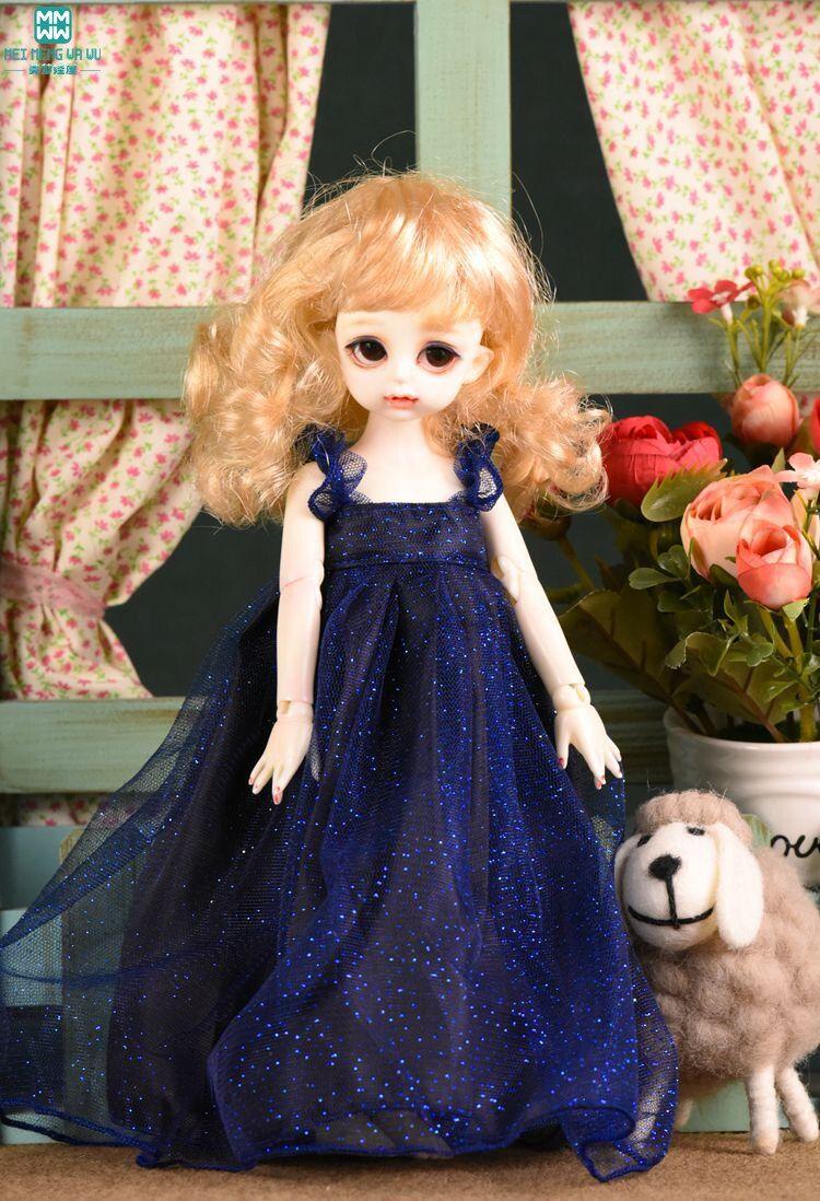 Blue -Pink BJD Doll Clothes Lolita Dress 1//4 1//3 msd SD Girl