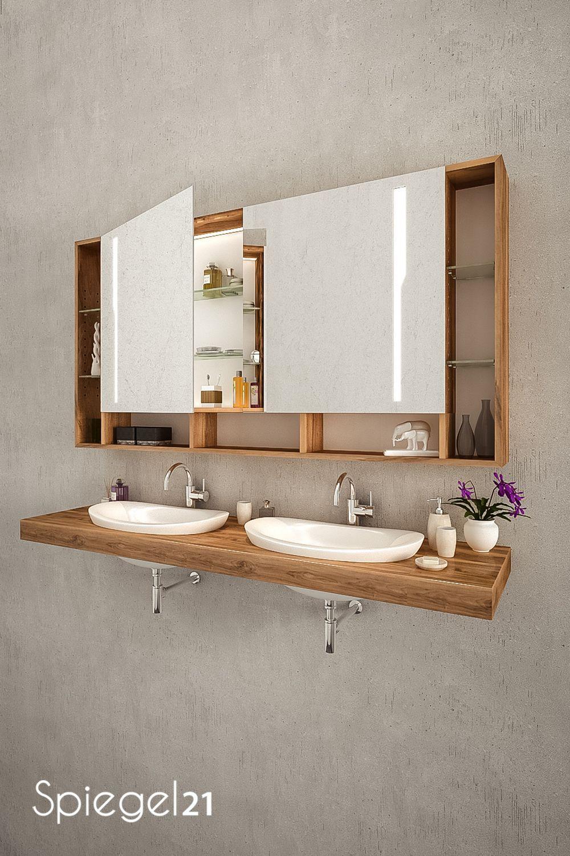 Badezimmer Spiegelschrank Mit Beleuchtung Und Ablage