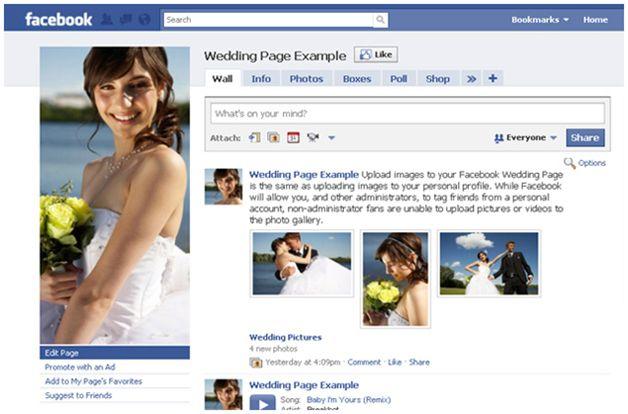 How To Facebook Your Wedding Wedding Guide Wedding Wedding Website