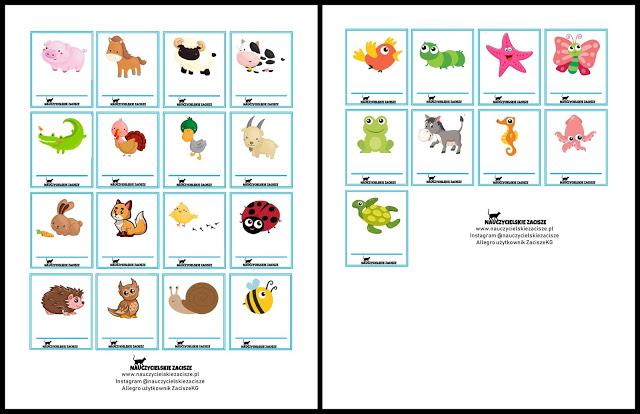 Nauczycielskie Zacisze 25 Znaczkow Do Szatni W Przedszkolu Do Pobrania Za Darmo Kindergarden Blog Holiday Decor