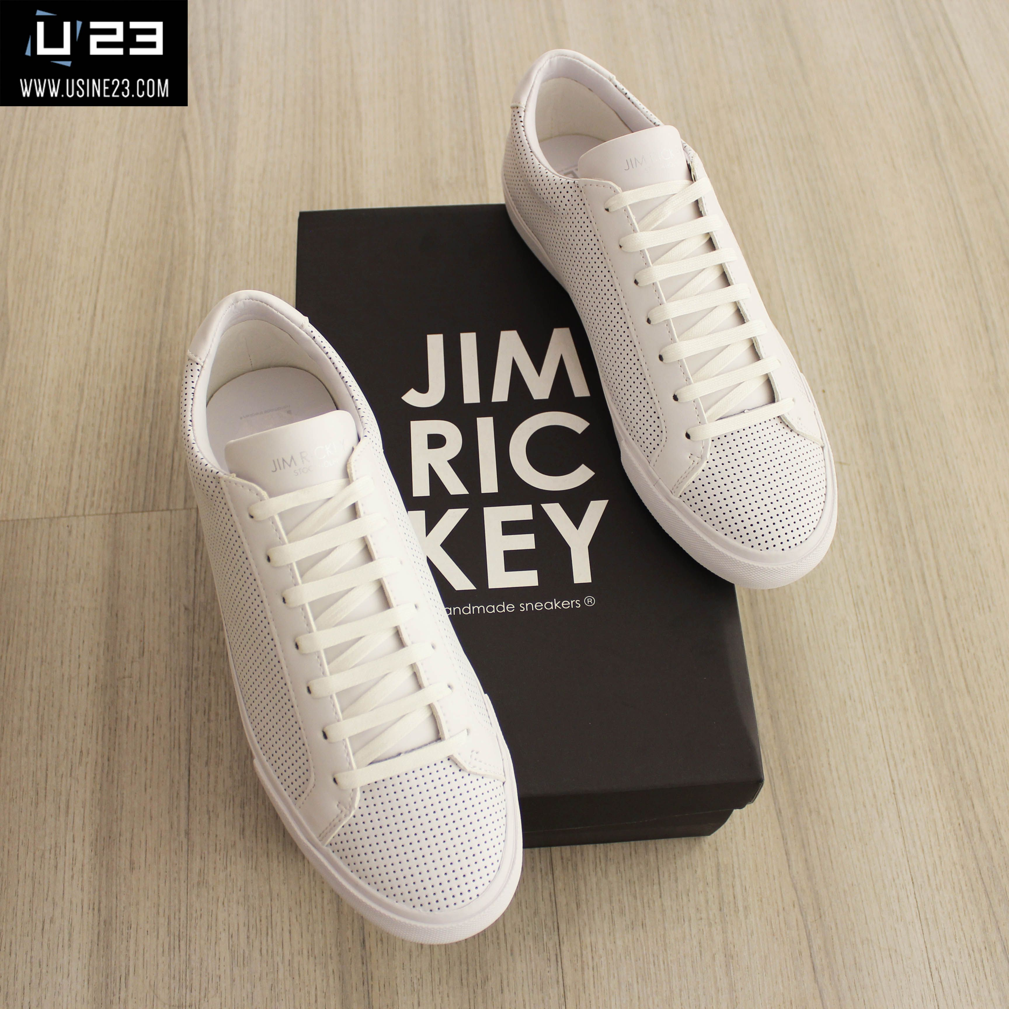 Sneakers Homme - Jim Rickey Chop Punched Out Leather Basket Homme, Mode  Homme, Chaussure b566b98095d