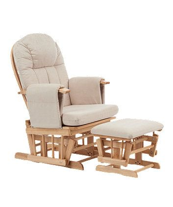 This reclining glider chair is the perfect place to sit and relax during your…