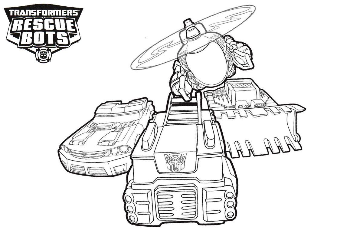 Rescue Bots Coloring Pages Coloring Pages For Kids Rescue Bots