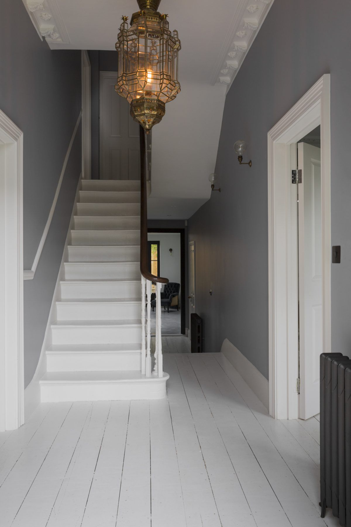 hallway paint ideas grey, Light for stairs (stairway) ideas, LED, pendant, hallway