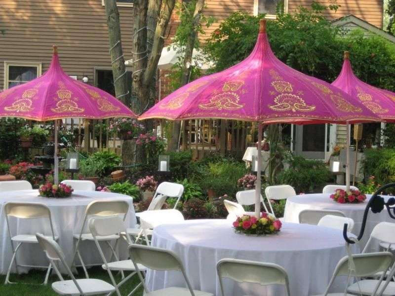 Henna Party Etiquette : Outdoor party ideas decorations is amazing idea