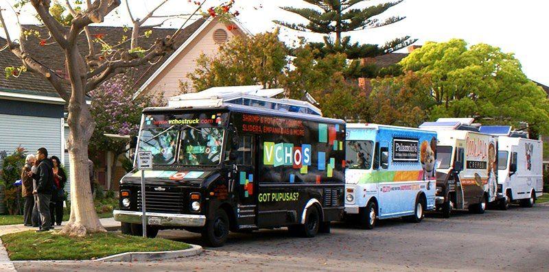 1st Thursday gourmet food trucks! Oxnard, Gourmet