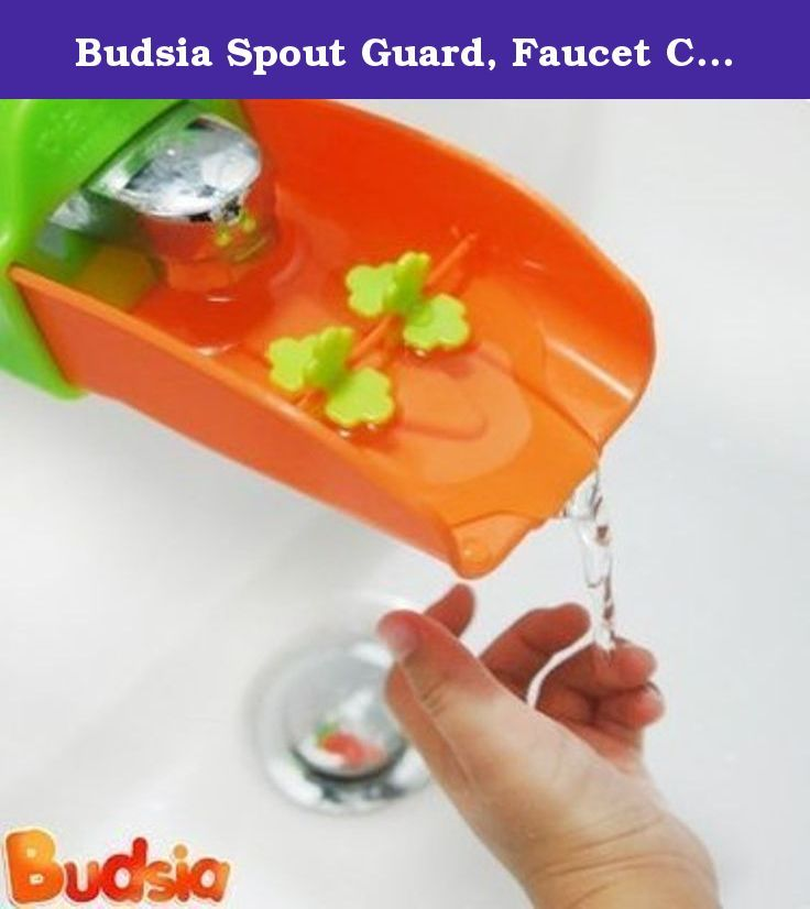 Budsia Spout Guard, Faucet Cover Extender, Baby bath toys, fun ...
