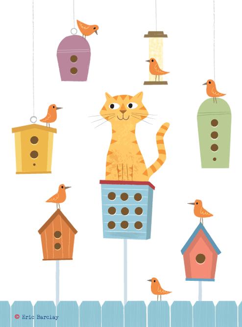Résultats de recherche d'images pour «friday cat illustration»