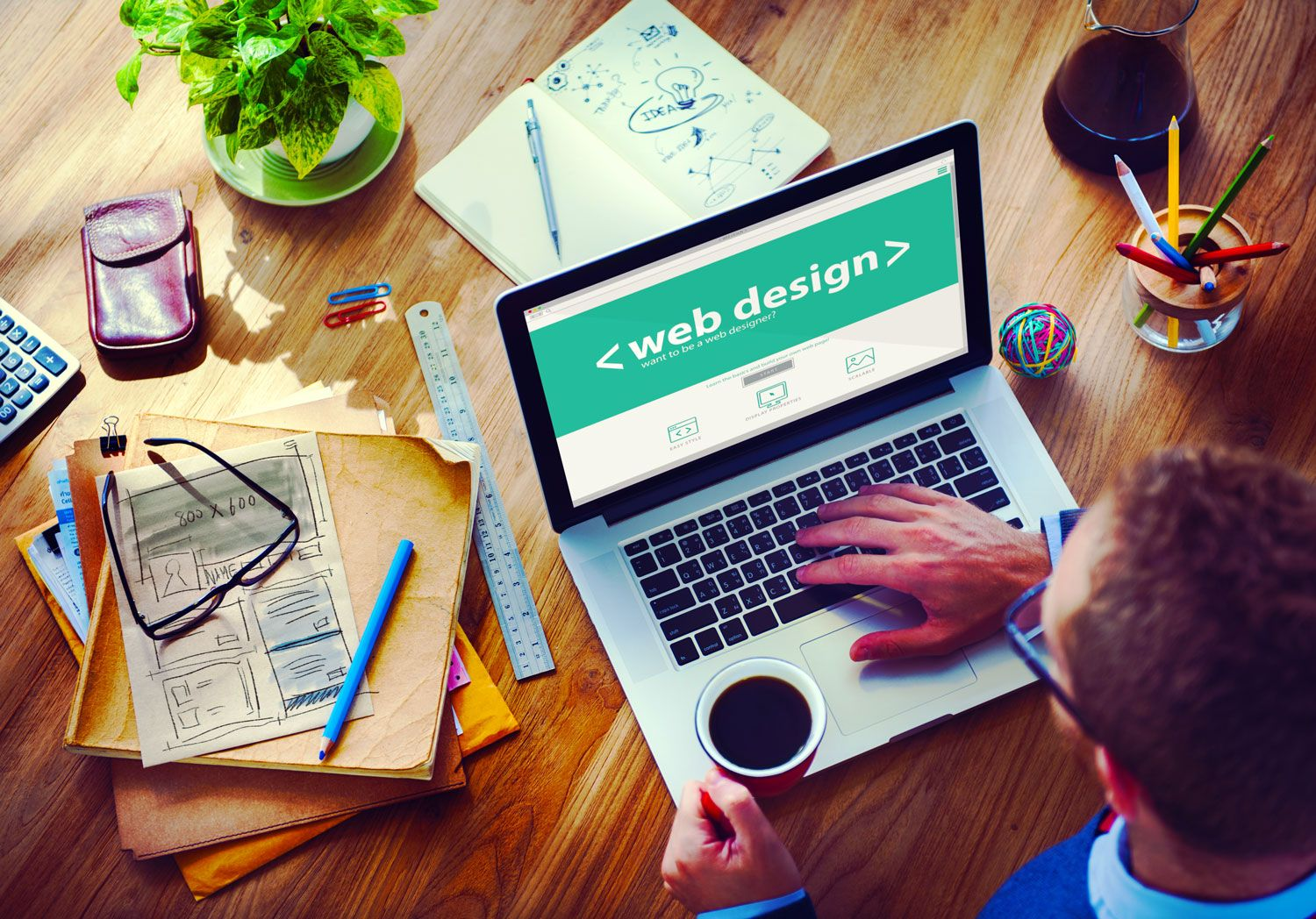 Web Design Has Now Become The Most Important Thing In This Digital Era So It Is Considered As A Good Career Choi Web Design Company Website Design Job Search