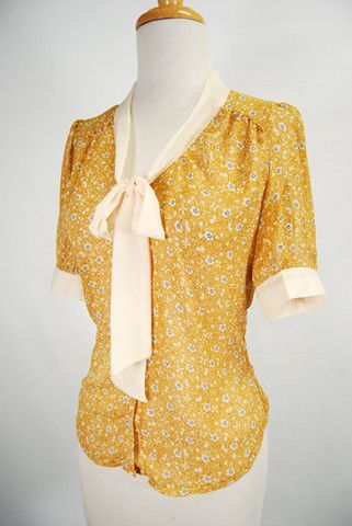 The Downton Blouse - Dijon Red dress shoppe | Fashion Old and New ...