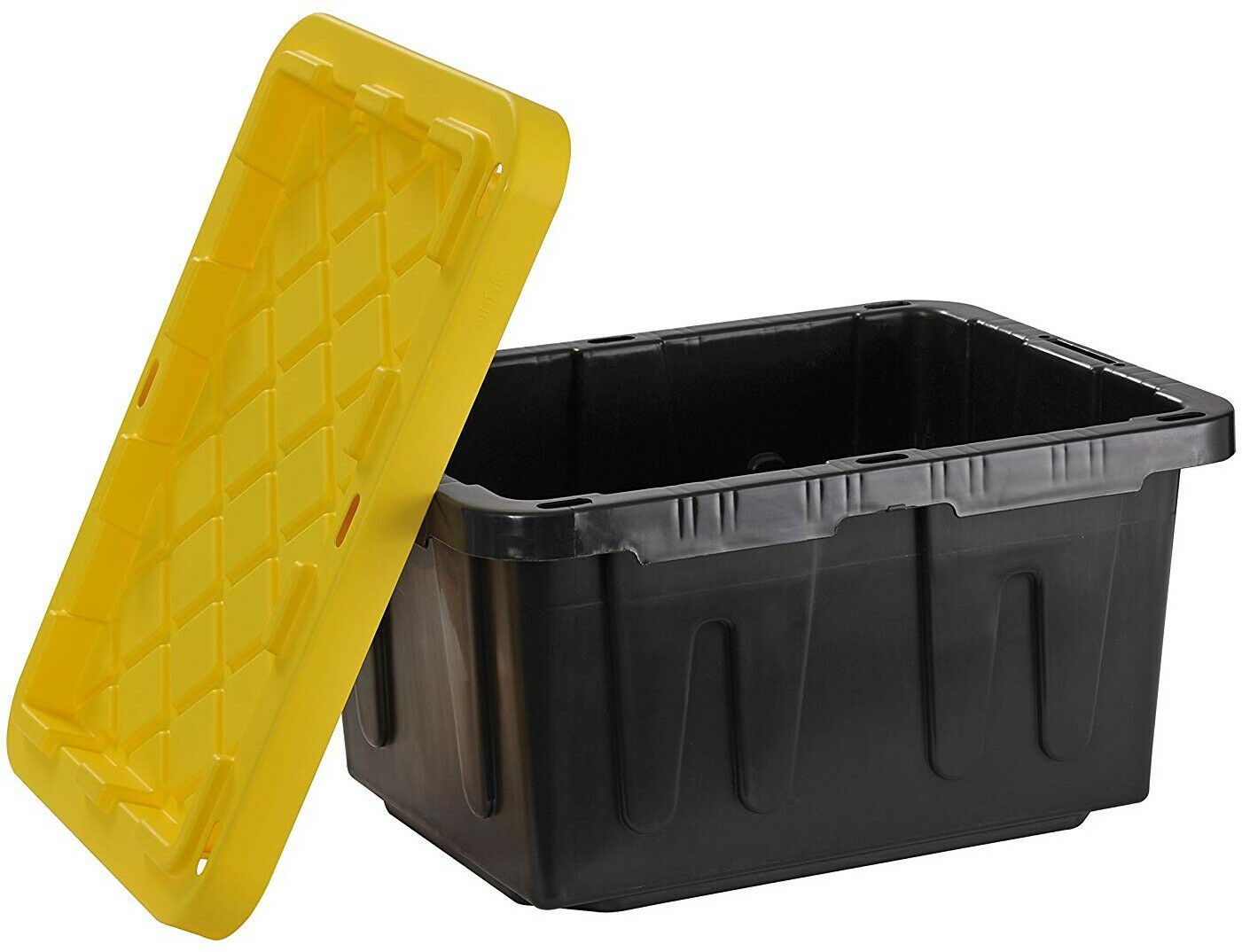 Details About Heavy Duty Storage Container 4pack Lock 5 Gal Gallon