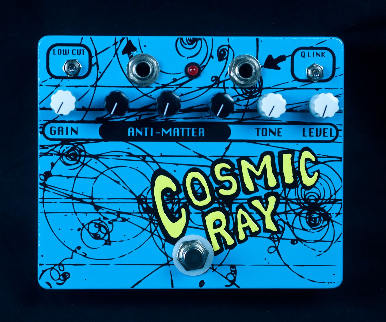 Flickinger Cosmic Ray Fuzz Pedal Blue Amps N Pedals Pinterest Box By All Fet