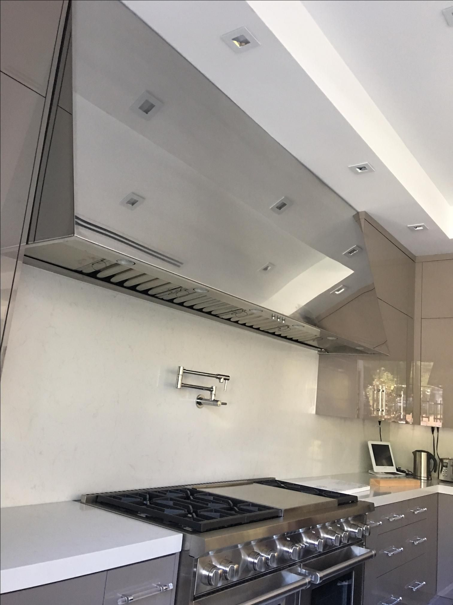 kitchen hood wall vent | Kitchen Design Ideas | Stainless ...