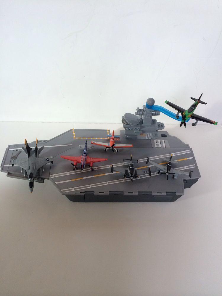 Mattel Disney Planes Aircraft Carrier Playset