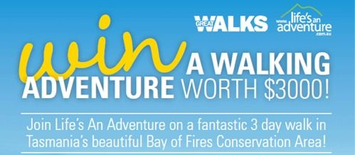 Win a Bay of Fires Walking Adventure