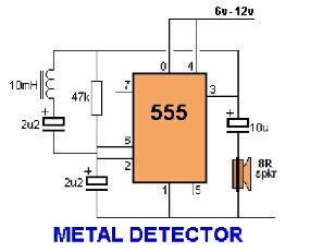 How to make a cheap and simple metal detector electronics how to make a cheap and simple metal detector ccuart Choice Image
