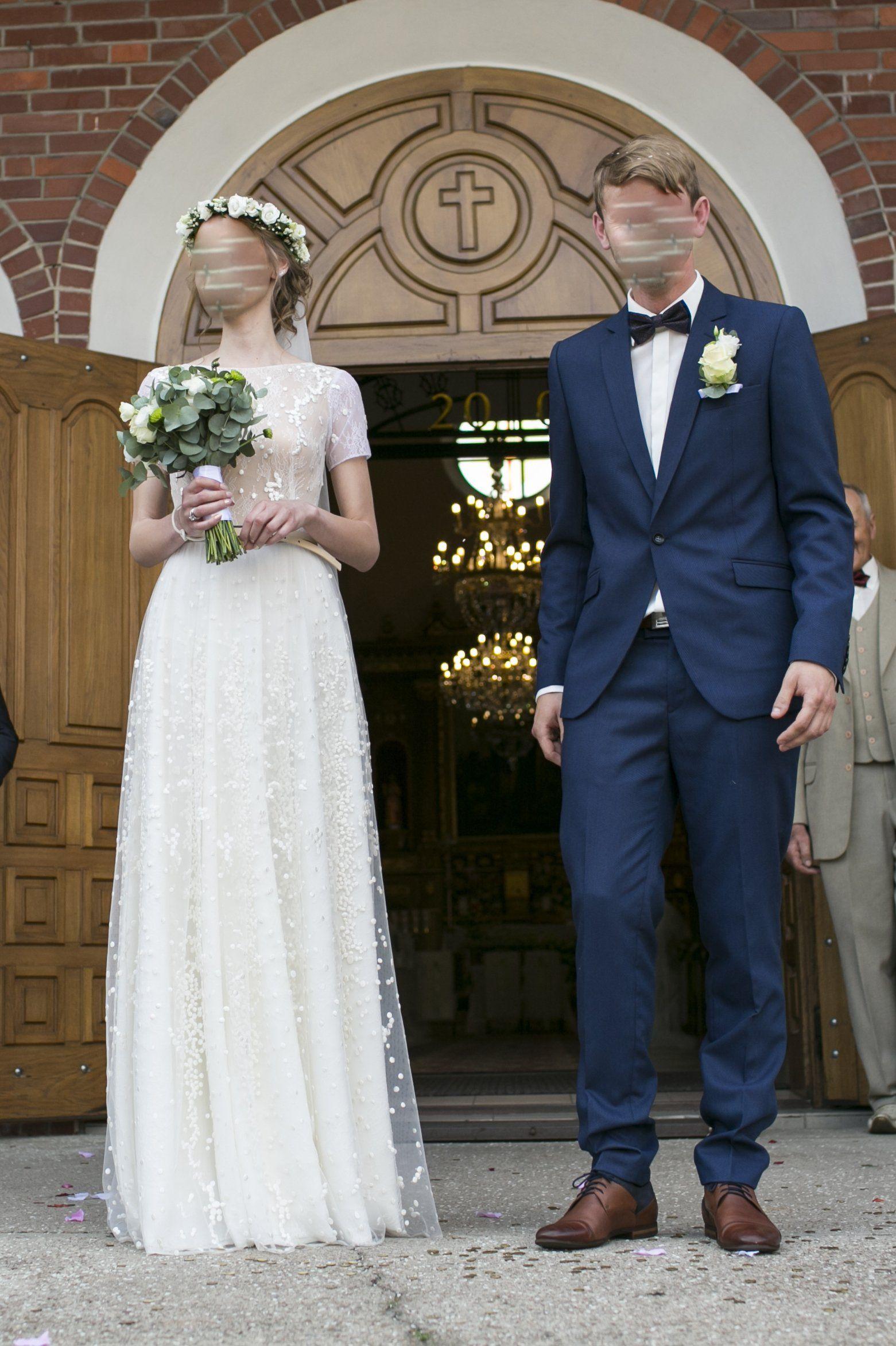 Suknia Slubna Jak Anna Kara Sandy 2017 6962320423 Oficjalne Archiwum Allegro Wedding Dresses Lace Dresses Wedding Dresses