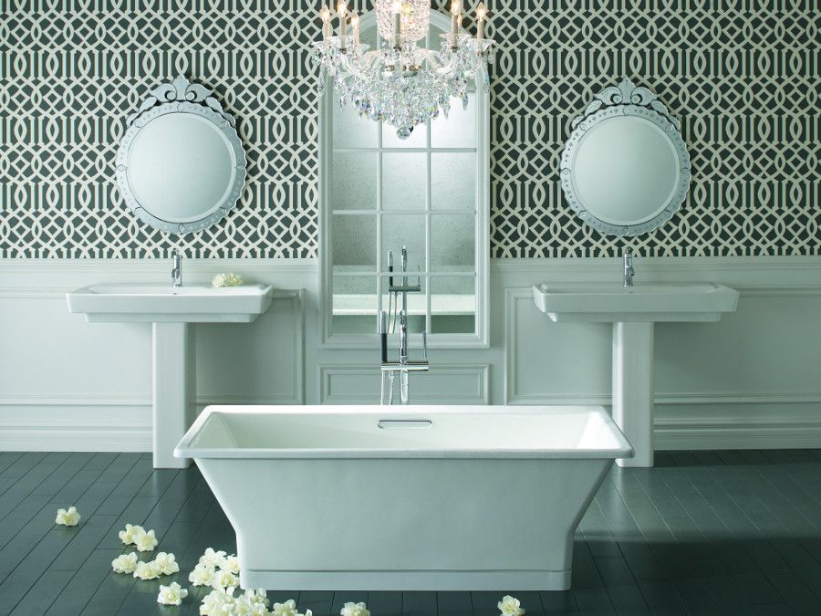La baignoire �lot empire design