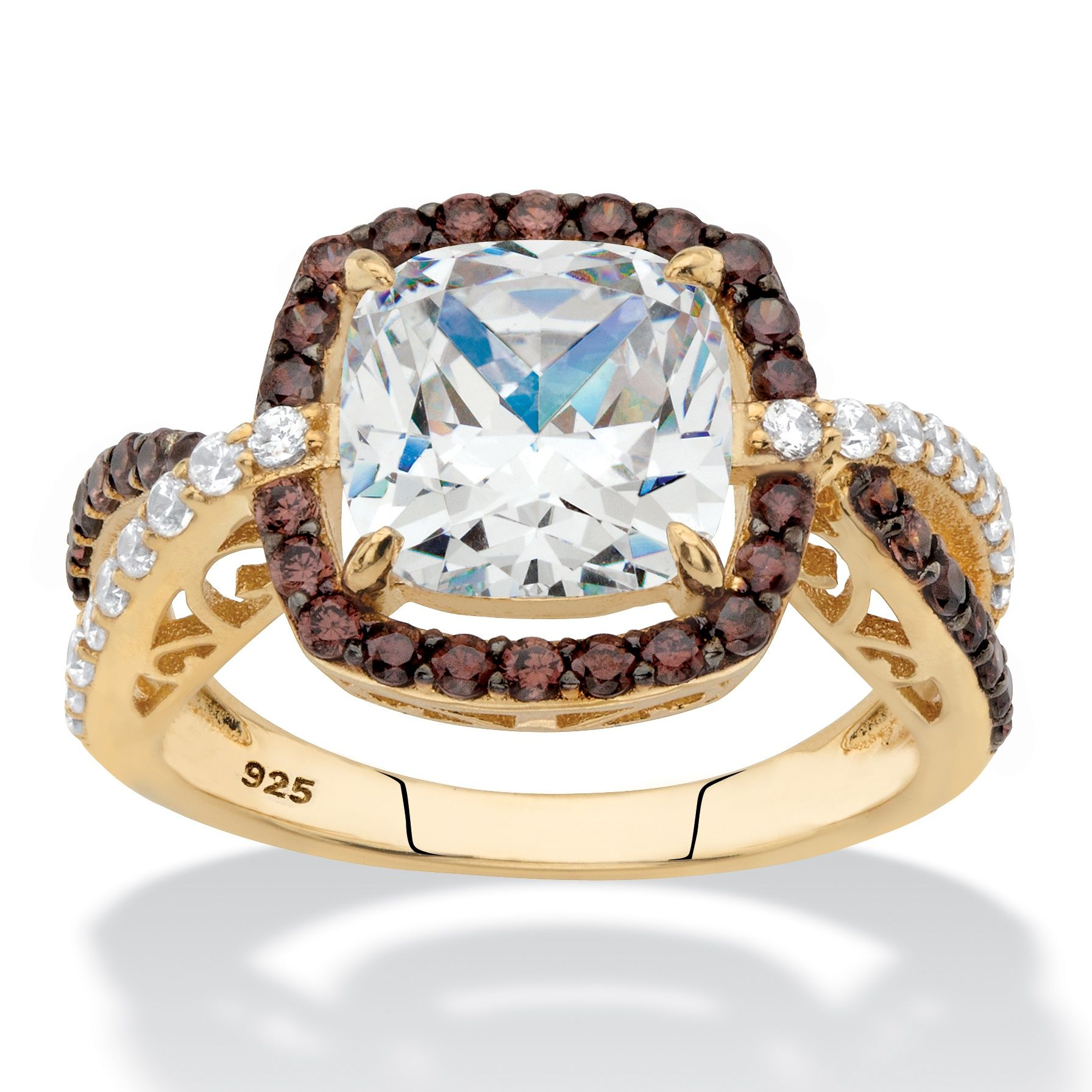 Truly chic, this gorgeous ring makes a unique engagement ...