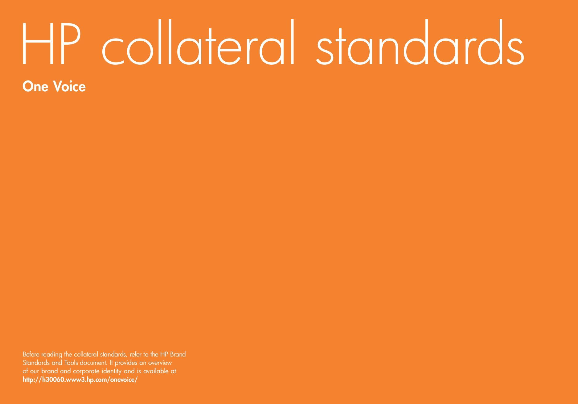 HP collateral standards • brand guidelines • Pinterest