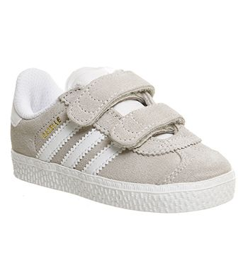 Adidas Gazelle 2 Infant Off White White Unisex | .Styling