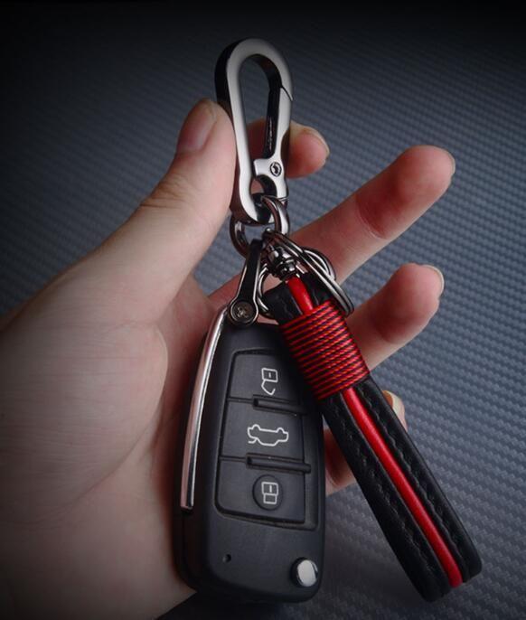 car key ring holder chain for audi A3 A4 A6L Q3 Q5 Q7 S3 S6