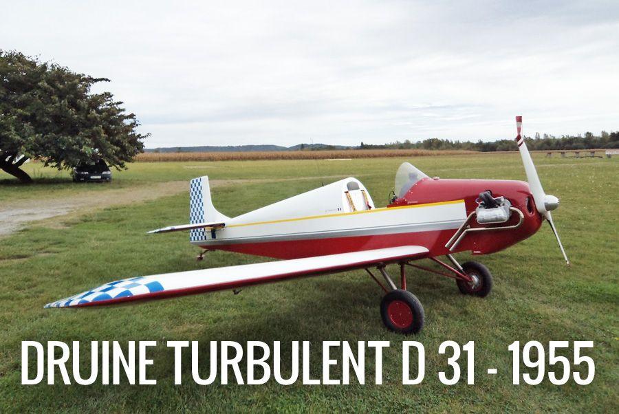 Druine D31 Turbulent - 1955