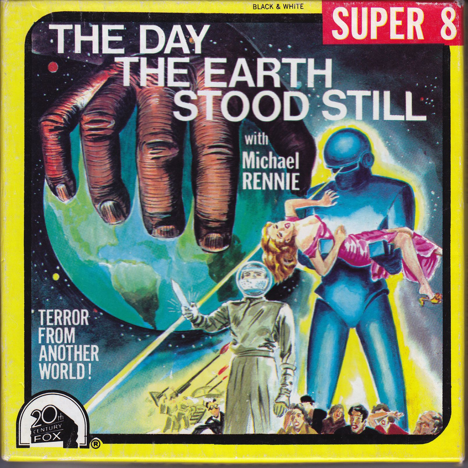 The Day the Earth Stood Still. Vintage film, B movie