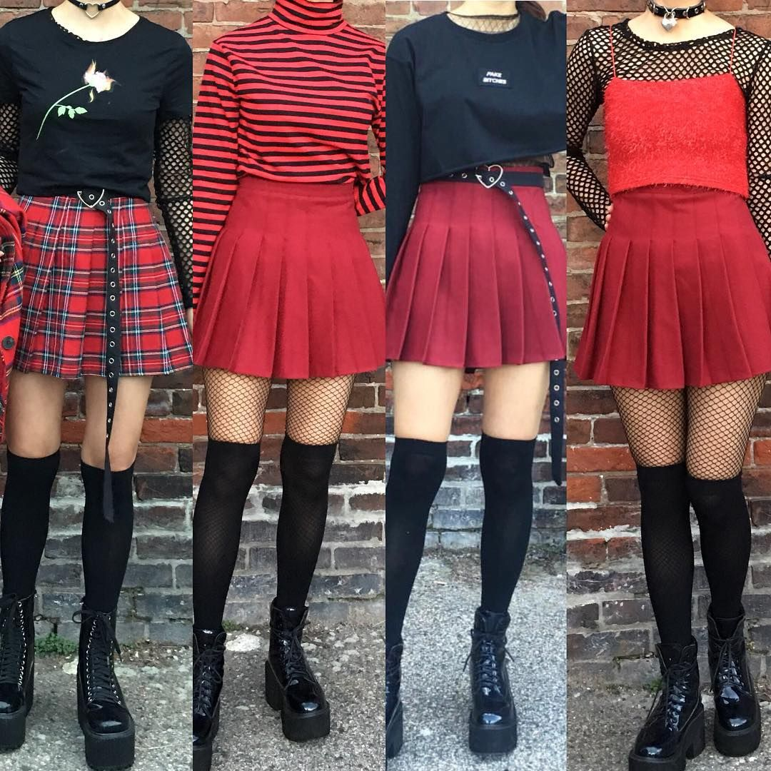 Red Aesthetic 🌹 Tag Your Squad To Wear These Outfits
