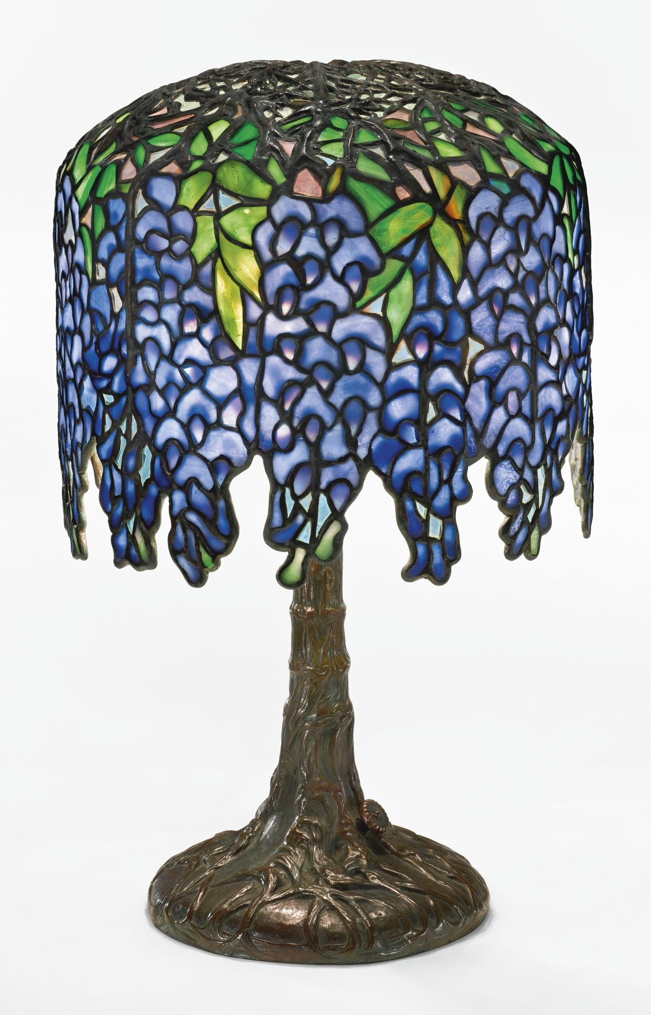Tiffany studios pony wisteria table lamp shade impressed tiffany tiffany studios pony wisteria table lamp shade impressed tiffany studios new york and 349 aloadofball Image collections