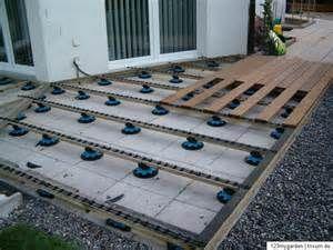 construction wpc Terrasse bauen, Terrasse