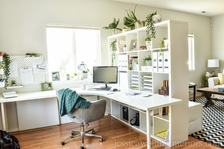 Ikea Home Office Ideas My New Design Studio Reveal Jessica Welling Interiors Ikea Home Office Ikea Home Home Office Furniture