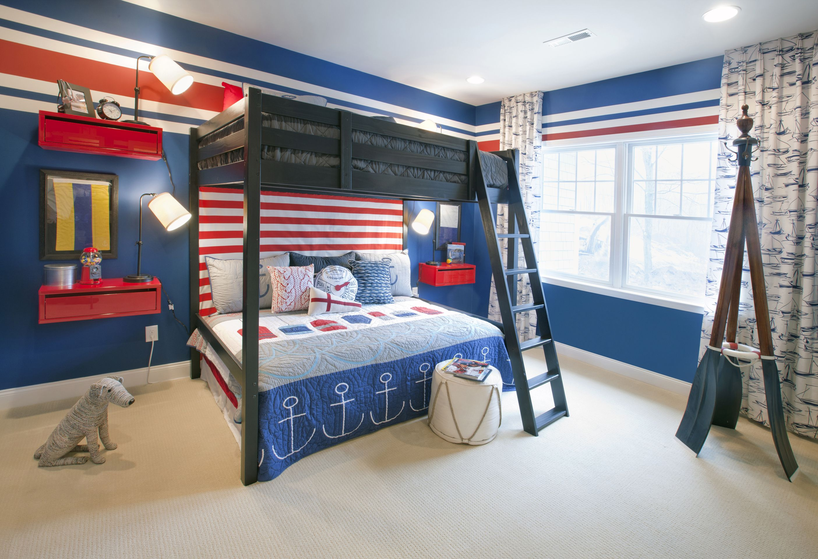 Boy 39 S Bedroom Estates At Cohasset By Toll Brothers Interior Design By Mary Cook Associates