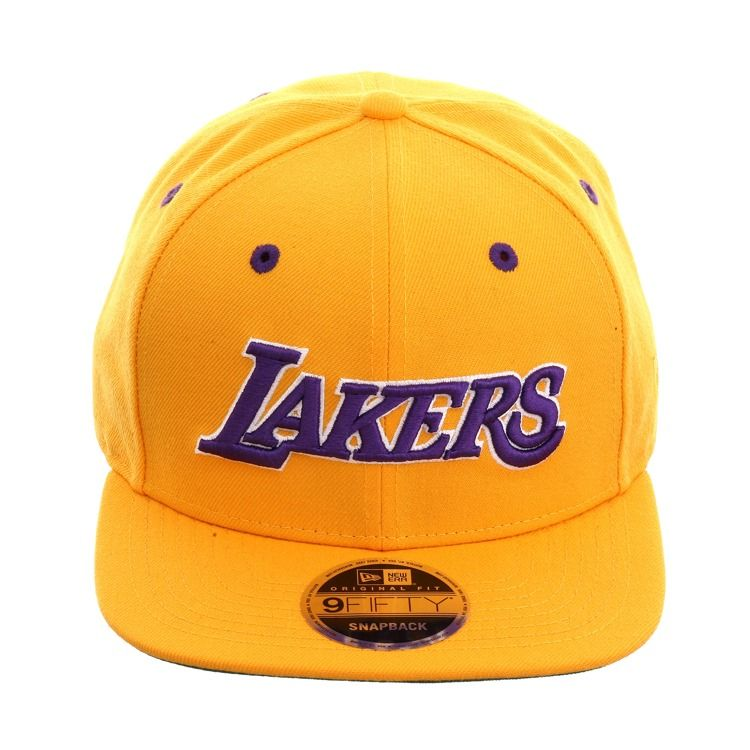 Exclusive New Era 9fifty Los Angeles Lakers Jersey Snapback Hat ...