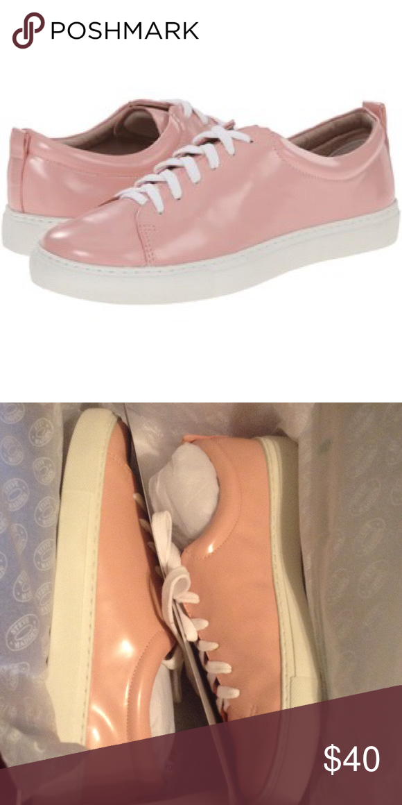 Steve Madden Tacyy pink sneaker 7.5 new Brand new Steve Madden pink sneaker lace up. Size 7.5 Steve Madden Shoes Sneakers